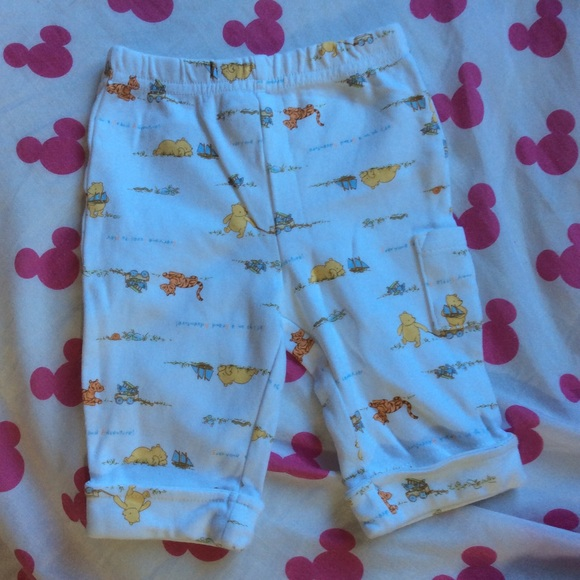 Disney Other - Disney Classic Pooh 0 to 3 months pants